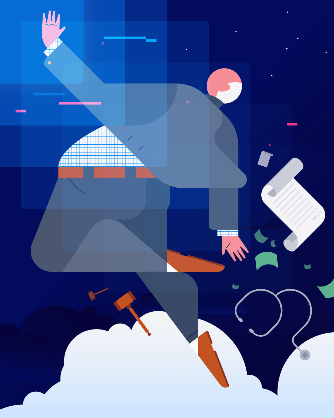 Trend illustration